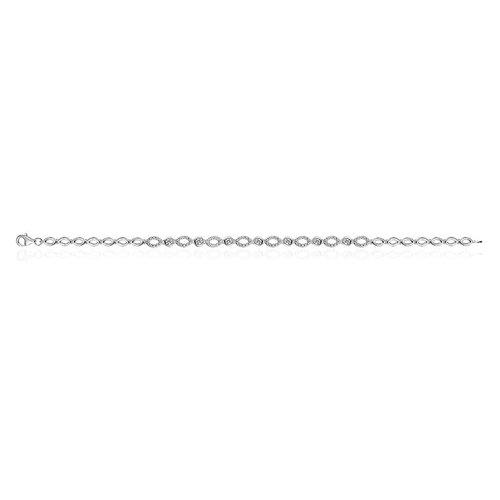 Huiscollectie Zilveren armband met zirconia B915