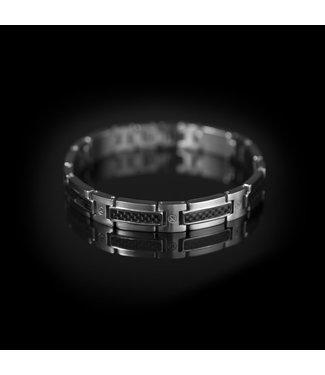 Van Dam Juwelier Herenarmband titanium LM04