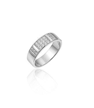 Van Dam Juwelier Zilveren ring R056 56