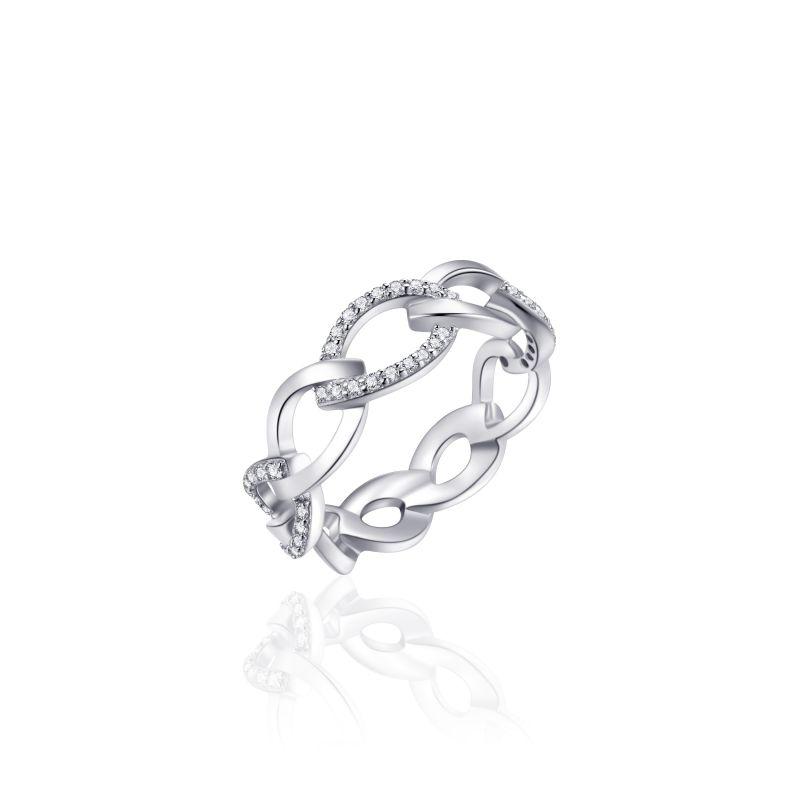vDam Zilveren Ring | mt 54