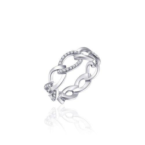Huiscollectie Zilveren Ring | mt 58