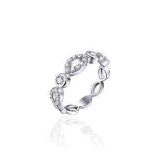 Huiscollectie Zilveren Ring Met Zirkonia
