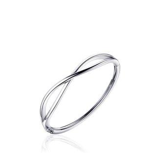 Van Dam Juwelier Zilveren slavenarmband SB07 60mm