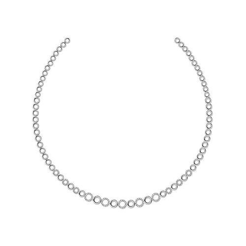 Zilveren ketting N913