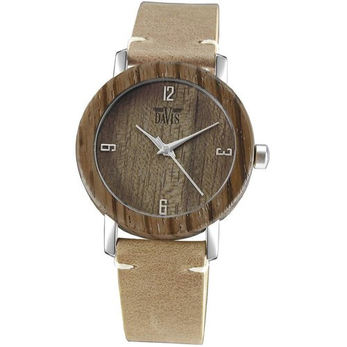 Davis Davis Timber Houten Horloge 2131
