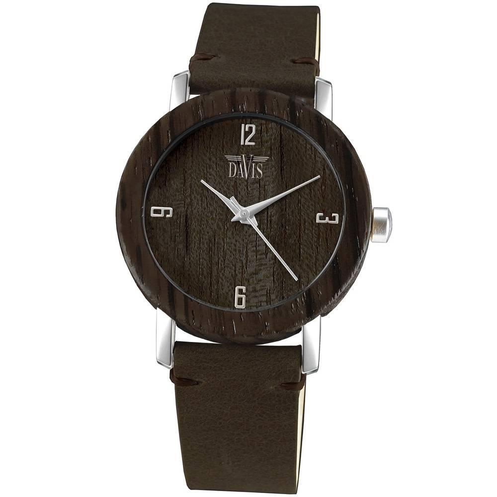 Davis Houten Horloge 2130