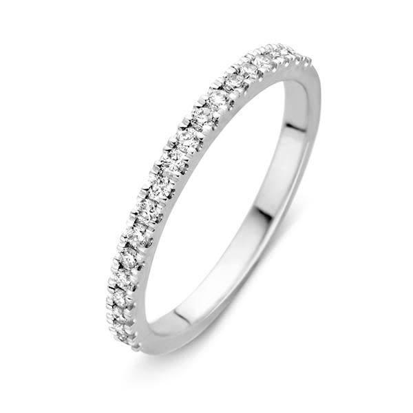 vDam Ring witgoud briljant 0,26crt RG216197-56