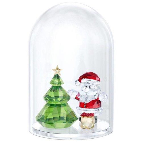Swarovski Swarovski Sneeuwbol - Kerstman & Boom 5403170