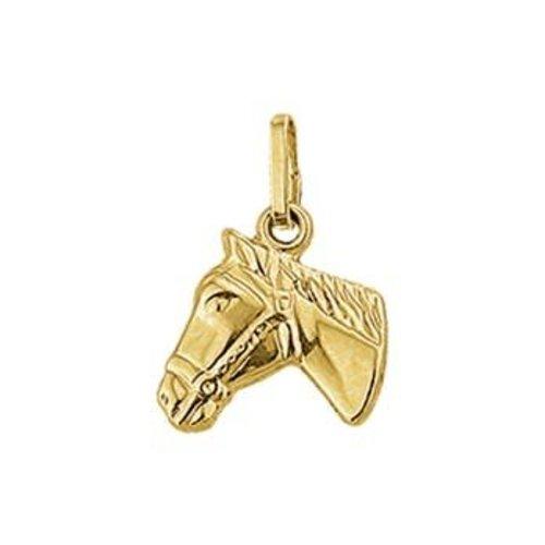 Huiscollectie Gouden Bedel paardenhoofd 4018478