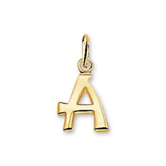 Huiscollectie Gouden Bedel letter A 4018416