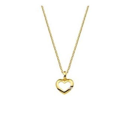 Gouden Collier hart 1,0 mm 40.18471