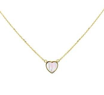vDam Gouden Collier hart 1,1 mm 4019727 44 cm