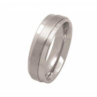 Huiscollectie Edelstalen Ring 50170-63r Maat 63