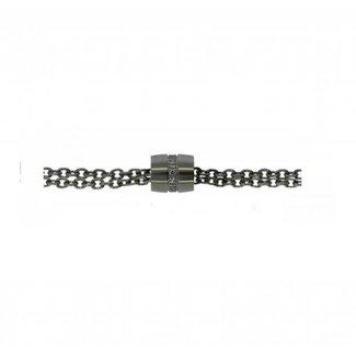 Van Dam Juwelier Edelstalen Collier 53109-42ch 42cm