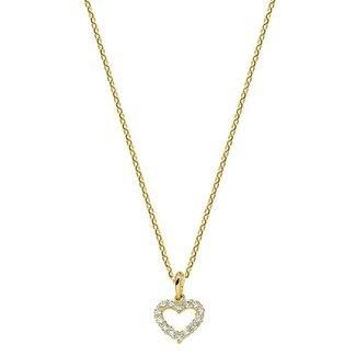 Huiscollectie Gouden Collier hart 1,0 mm 4018456