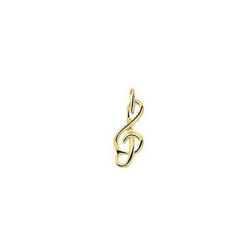 Huiscollectie Gouden Bedel muzieksleutel 4018477