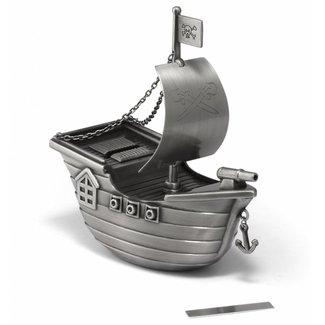 Zilverstad Piratenboot Spaarpot 6179061
