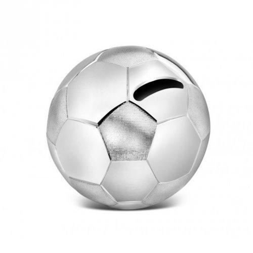 Zilverstad A6007260 voetbal spaarpot