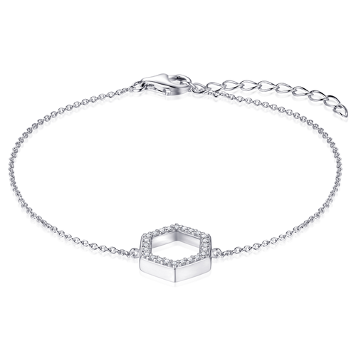 Zilveren Armband   B1006