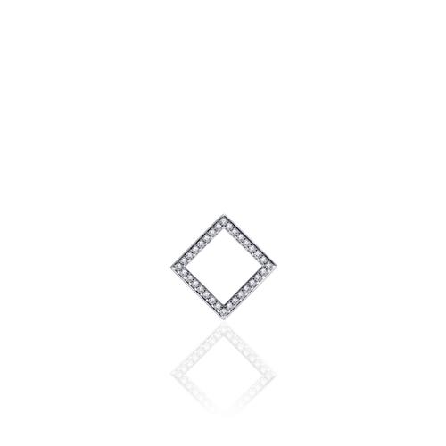 Zilveren Hanger   P1050