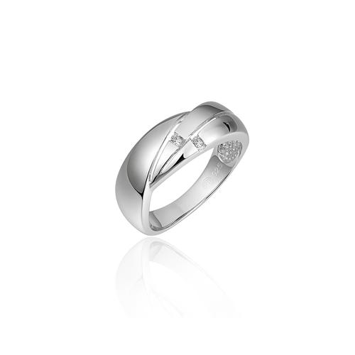 Zilveren Ring met Zirconia | R054 | mt 56