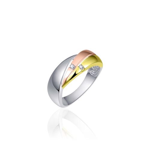 Huiscollectie Zilveren Ring R054T mt 56