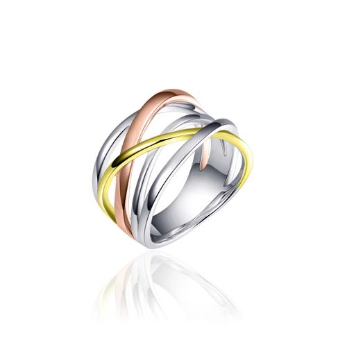 Zilveren Ring | R083T mt 56