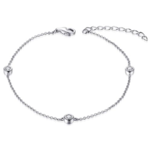 Huiscollectie Zilveren Armband met Zirconia B1000