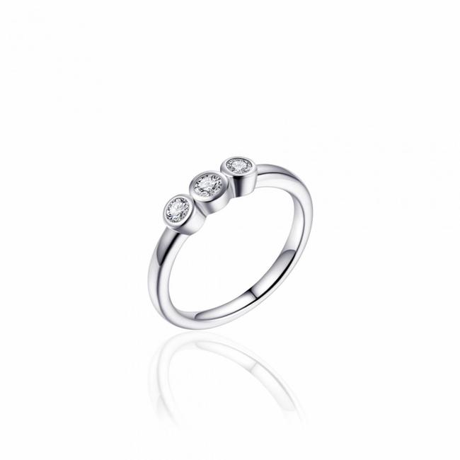 Huiscollectie Zilveren Ring met Zirconia   R375   mt 56