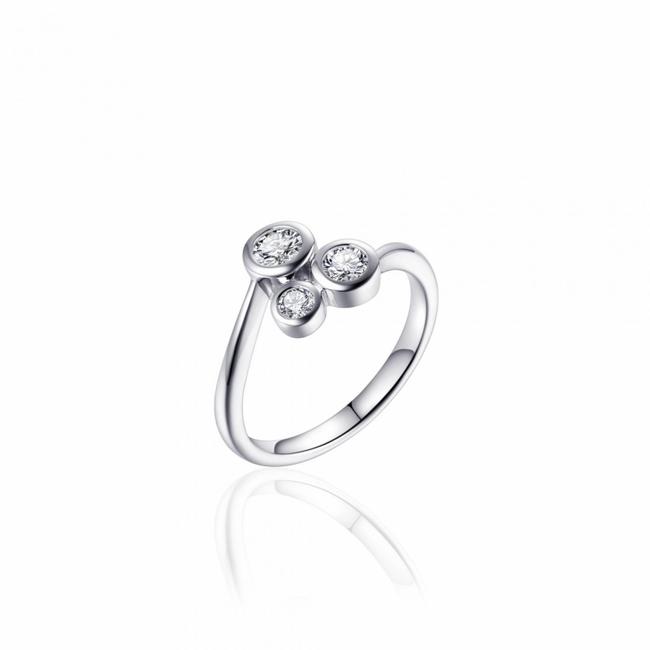 Huiscollectie Zilveren Ring met Zirconia | R383 | mt 54