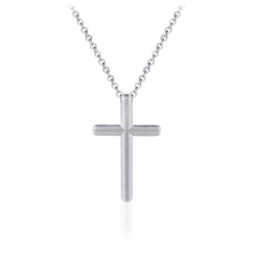 Zilveren Collier met Kruis | N1014