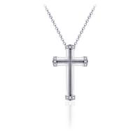 Zilveren Ketting Met Kruis