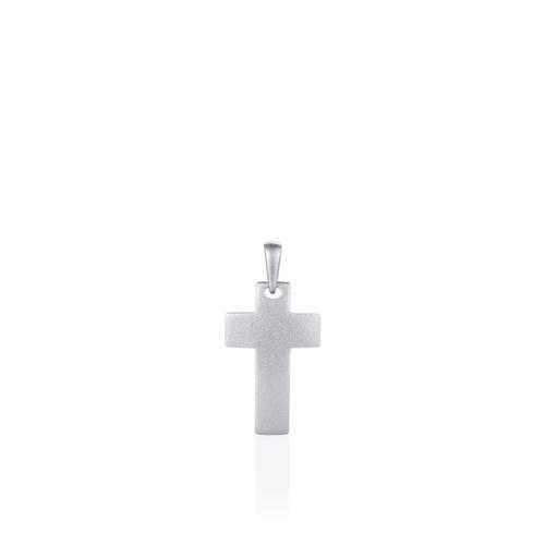 Huiscollectie Zilveren Hanger Kruis   P1032M