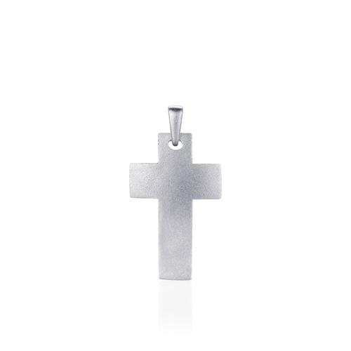 Huiscollectie Zilveren Hanger Kruis   P1034M