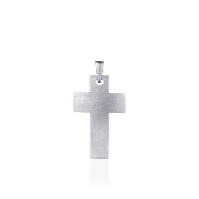 Huiscollectie Zilveren Hanger Kruis | P1034M