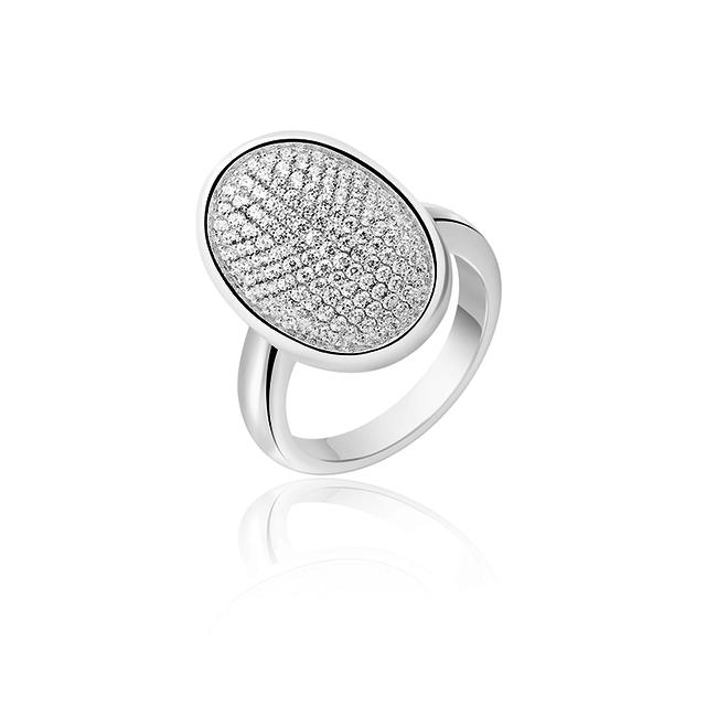 Huiscollectie Zilveren Ring Met Zirkonia Maat 54