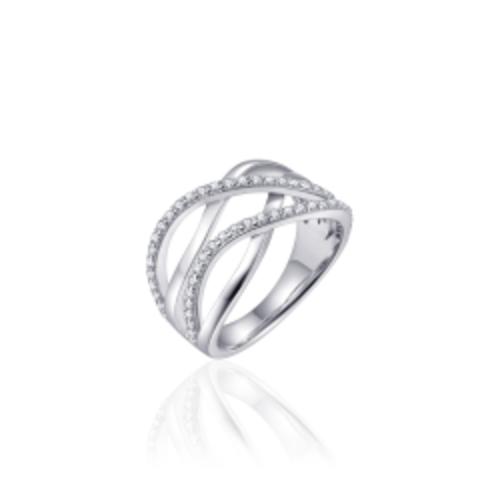 Zilveren Ring | mt 56 r351