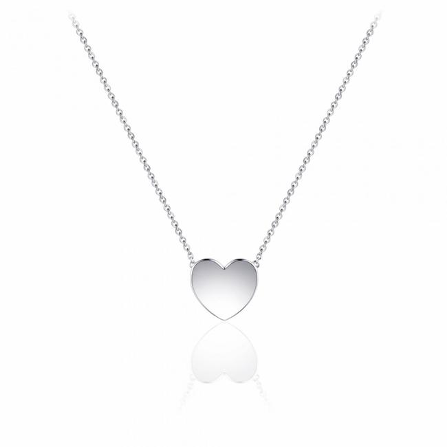 Huiscollectie Zilveren collier Hart | N1030