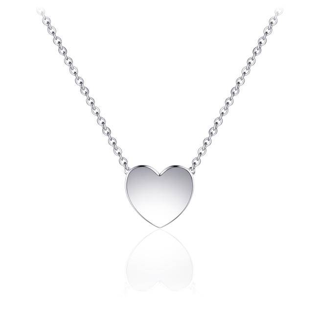 Huiscollectie Zilveren collier Hart | N1031