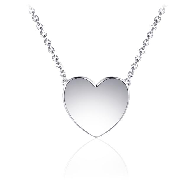 Huiscollectie Zilveren collier Hart | N1033