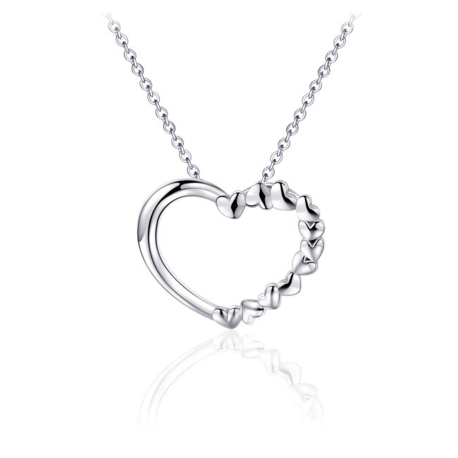 Huiscollectie Zilveren collier Hart | N1027