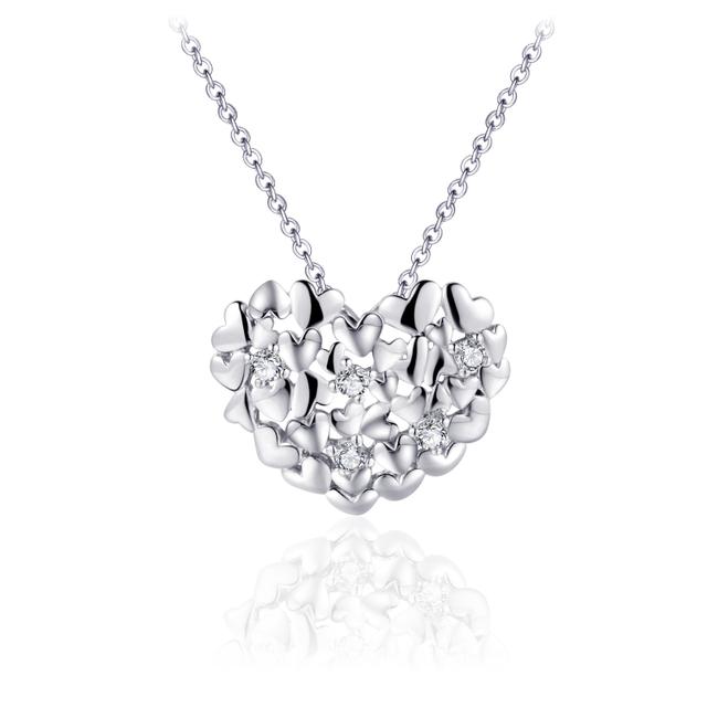 Huiscollectie Zilveren collier Hart | N1029