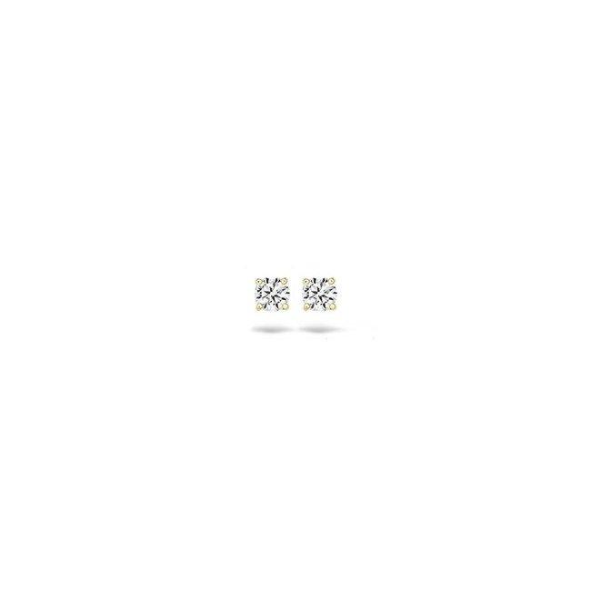 Blush Blush Oorbellen 7127YZI - Geel Goud (14Krt.) met Zirconia