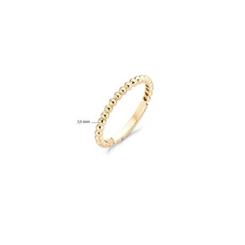Blush Blush Ring 1105YGO - Geel Goud (14Krt.)