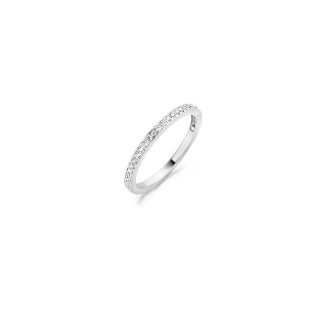 Blush Blush Ring 1119WZI - Wit Goud (14Krt.) met Zirconia