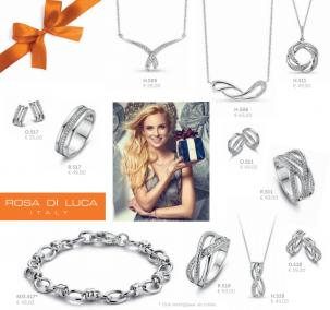 Cadeautip: Romantisch en betaalbaar, Zilveren sieraden van Rosa di Luca