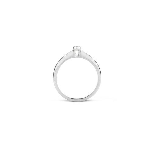 Blush Blush Ring 1145WZI - Wit Goud (14Krt.) met Zirconia