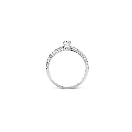 Blush Blush Ring 1146WZI - Wit Goud (14Krt.) met Zirconia