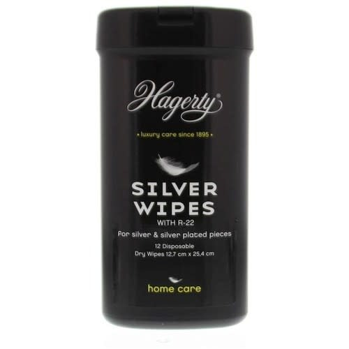 Hagerty Silver Wipes 12 st