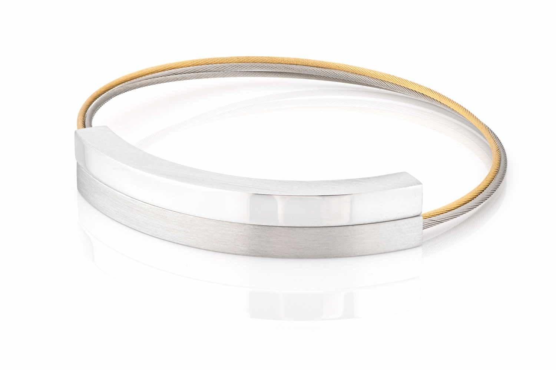 Clic Armband Bogen A225gold